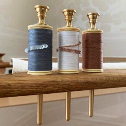 在庫限りで取り扱い終了【オートクチュール刺繍】糸立て 真鍮製