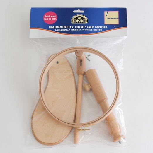 【刺繍枠・DMC】21.5cm丸枠スタンドタイプ【両手が使えて便利】