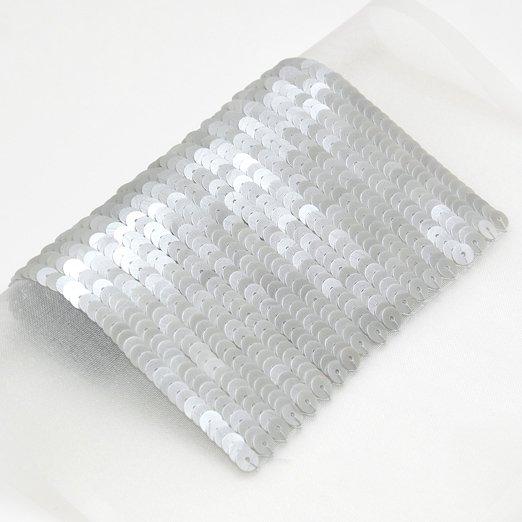 【オートクチュールスパンコール】4mm平 パールムーンライトグレー 2010 Paris collection