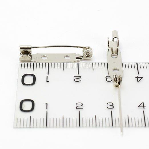 【 刺繍の仕立て用 】ブローチピン 15・20・25・30mmアソートセット