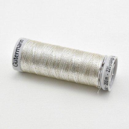 【ギッターマン】銀糸・200m巻き