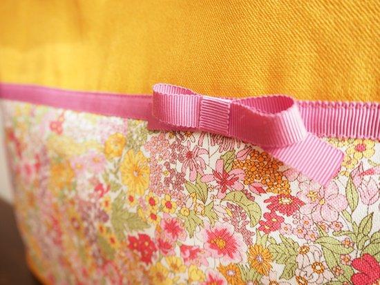 Flower Ribbon(レッスンバッグYEL)