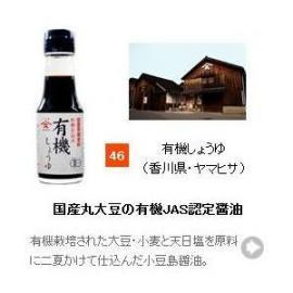 【醤油(しょうゆ)・濃口タイプ】有機しょうゆ 100ml (香川県・ヤマヒサ)