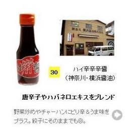 【醤油(しょうゆ)加工品タイプ】 ハイ辛辛辛醤 100ml (神奈川県・横浜醤油)