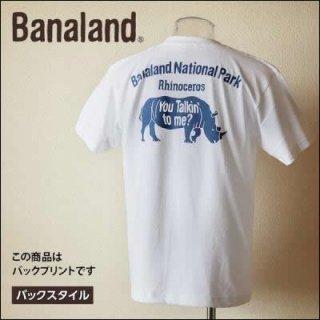 (MEN) バナランド デザイン Tシャツ メンズ ブランド サイ アニマル グラフィック バックプリント