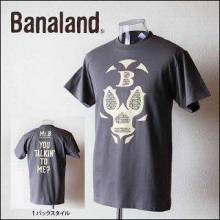 (MEN) バナランド デザインTシャツ メンズ ブランド マスク 覆面レスラー プロレス グラフィック