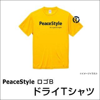 <img class='new_mark_img1' src='https://img.shop-pro.jp/img/new/icons15.gif' style='border:none;display:inline;margin:0px;padding:0px;width:auto;' />PeaceStyleロゴB ドライTシャツ(カナリアイエロー×ネイビー)
