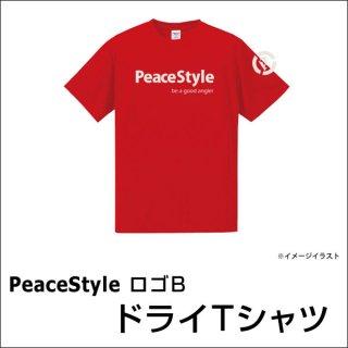 <img class='new_mark_img1' src='https://img.shop-pro.jp/img/new/icons15.gif' style='border:none;display:inline;margin:0px;padding:0px;width:auto;' />PeaceStyleロゴB ドライTシャツ(レッド×オフホワイト)