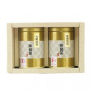 煎茶 80g缶 2本入り【化粧箱入り】