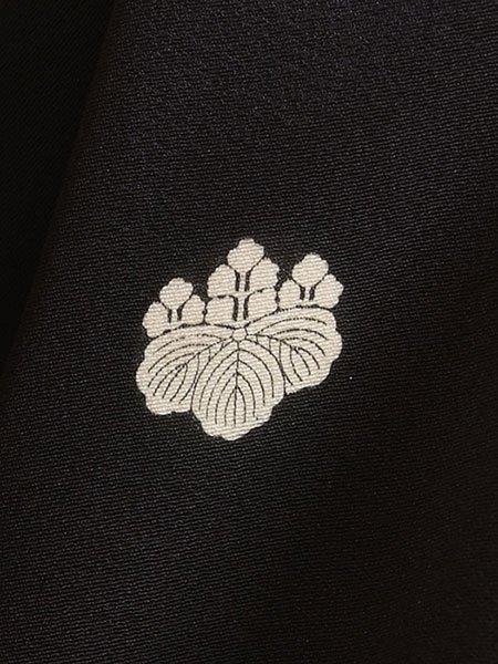 黒留袖レンタルセット(TS-1)黒/扇面・松 正絹