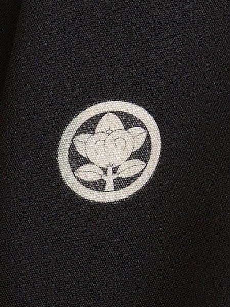 黒留袖レンタルセット(TS-8)黒/扇・鶴 正絹