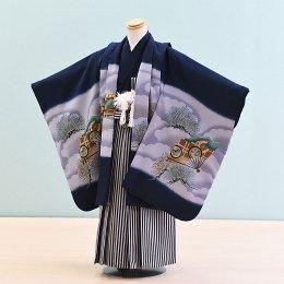 男児袴レンタル(5-17)紺/たか