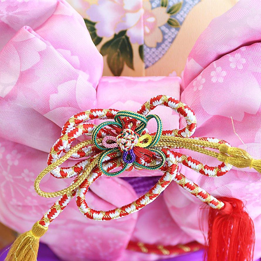 七五三着物七歳お祝着レンタルセット(7-20)クリーム/花 ファンタジー