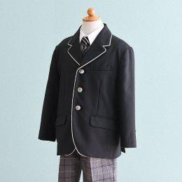 男の子スーツレンタル(FB-1)110/半ズボン 黒|グレー