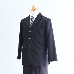 激安格安 男の子フォーマルスーツレンタル(FB-4)140 黒|卒業式・発表会