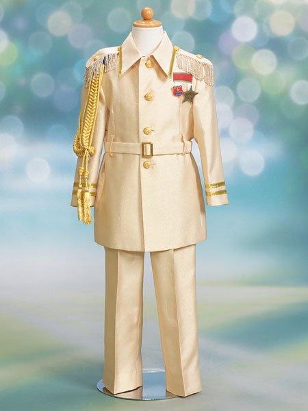 男の子フォーマルタキシードレンタル(P-16)100/3歳 ゴールド