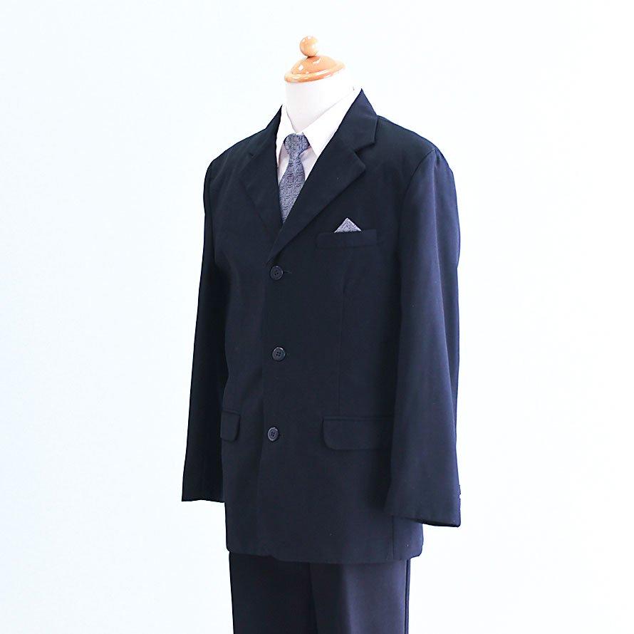 男の子フォーマルスーツレンタル(FB-13)155 紺