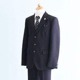 男の子スーツレンタル(FB-45)150 黒 MICHIKO LONDONミチコロンドン