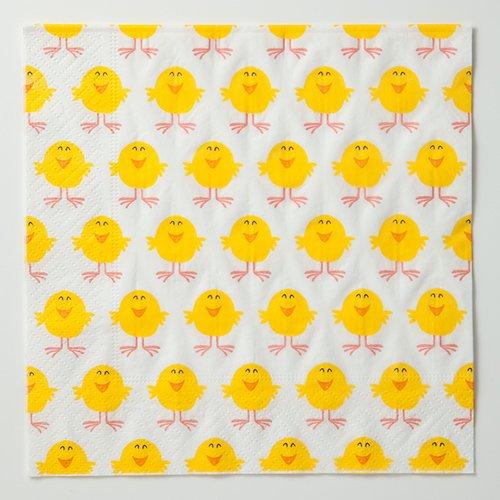 四つ折りペーパーナプキン(ひよこB)