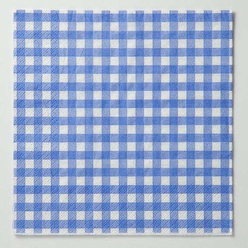 四つ折りペーパーナプキン(チェックC)