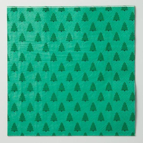 四つ折りペーパーナプキン(ツリー)