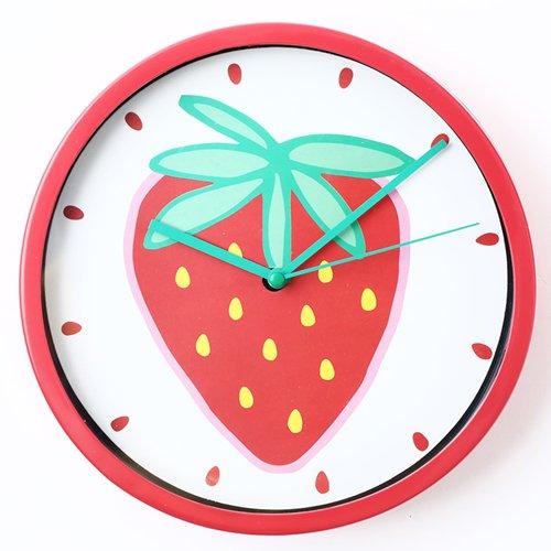 壁掛時計(ストロベリー)