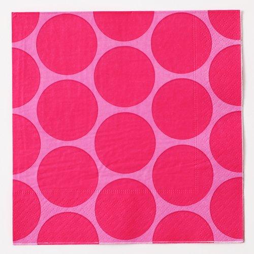 四つ折りペーパーナプキン(スモールサークルC)