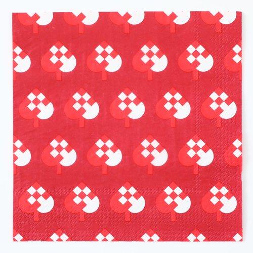 四つ折りペーパーナプキン(スペード)