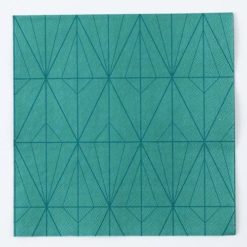 四つ折りペーパーナプキン(ラインアート)