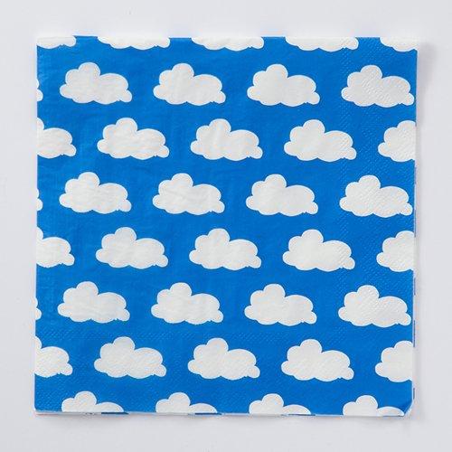 四つ折りペーパーナプキン(クラウド)