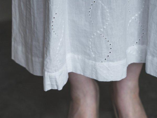 humoresque shisyu dress/white