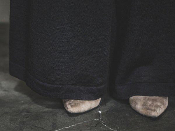 humoresque knit pantalon/black
