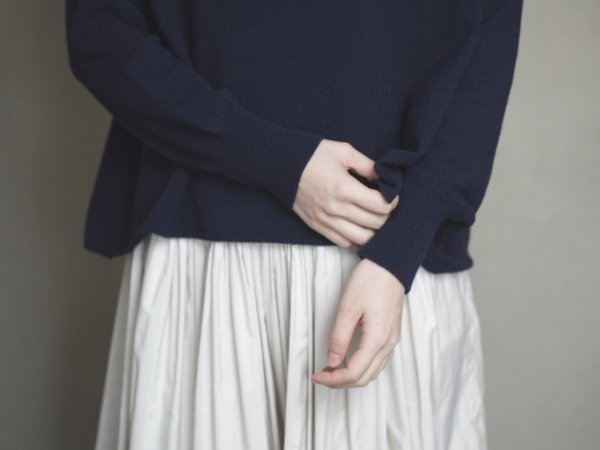 humoresque  food pullover/navy
