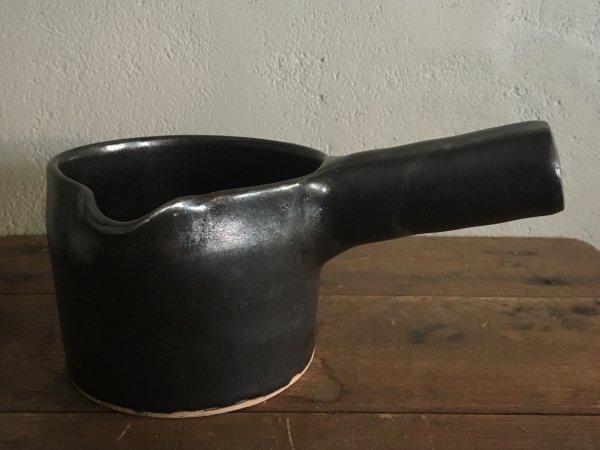八木橋 昇 耐熱ミルクパン 黒