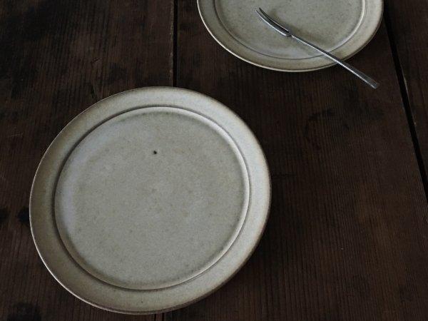 二川 修 5寸リム皿 白