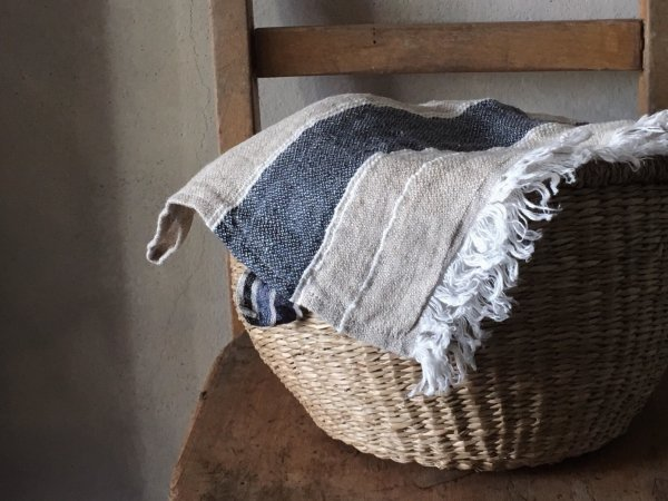 LIBECO belgian towel/BASTION STRIPE