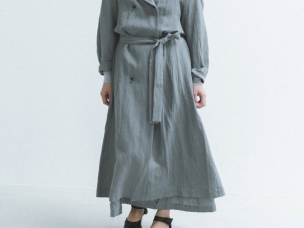 humoresque trench coat/gray