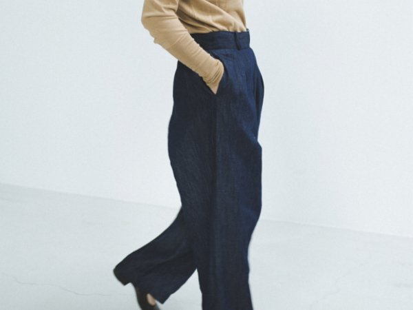 humoresque wide pants(indigo)