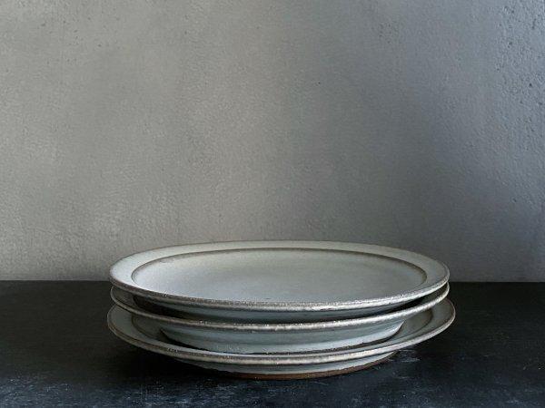 二川 修 4.5寸リム皿 白