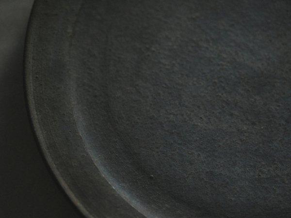 伊藤 環 錆銀彩6寸リムプレート