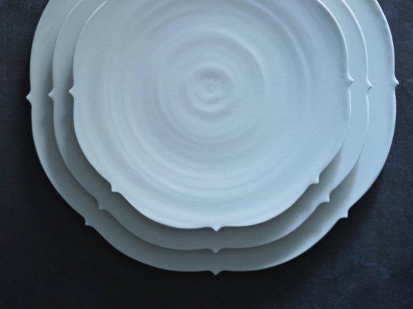 照井 壮 キキョウ盤皿 6寸