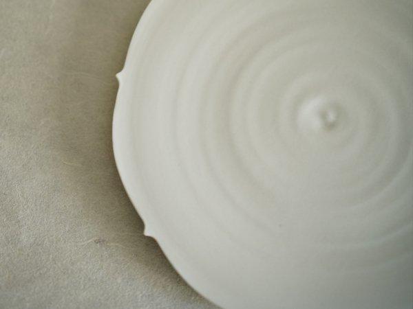 照井 壮 キキョウ盤皿 8寸