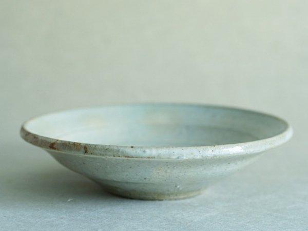 松原 竜馬 粉引 6寸リム深皿