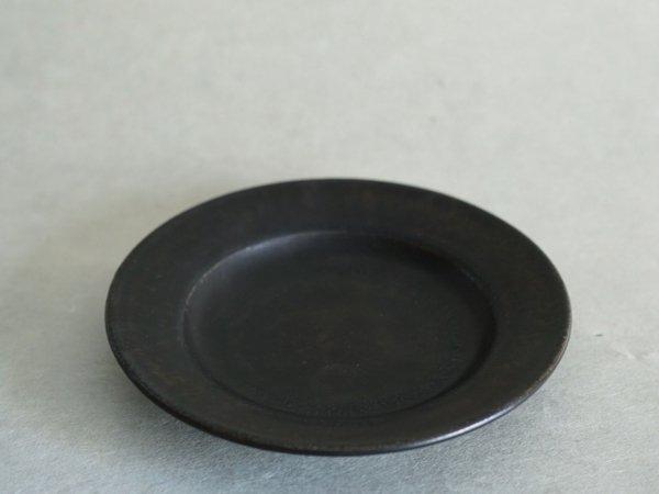 戸塚 佳奈 6寸リムプレート 黒