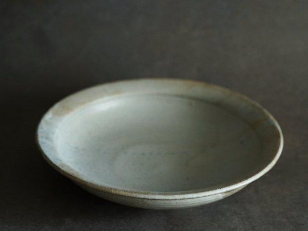 遠藤 素子 8寸リム浅鉢 粉引