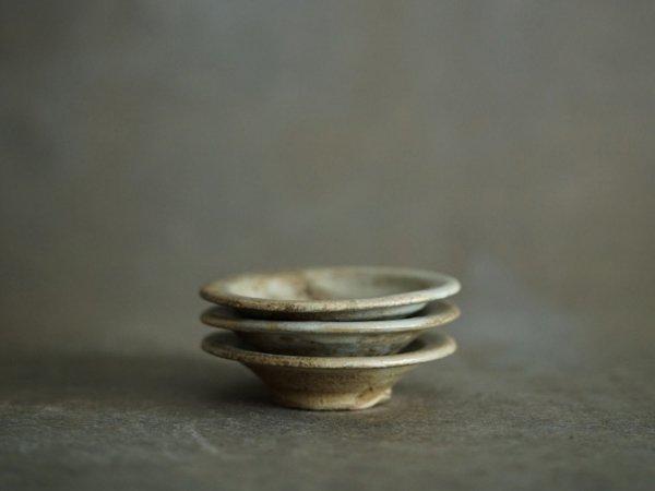 遠藤 素子 豆皿 粉引