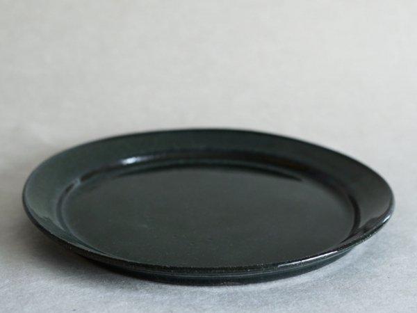 伊藤 環 琺瑯釉 9寸リムプレート