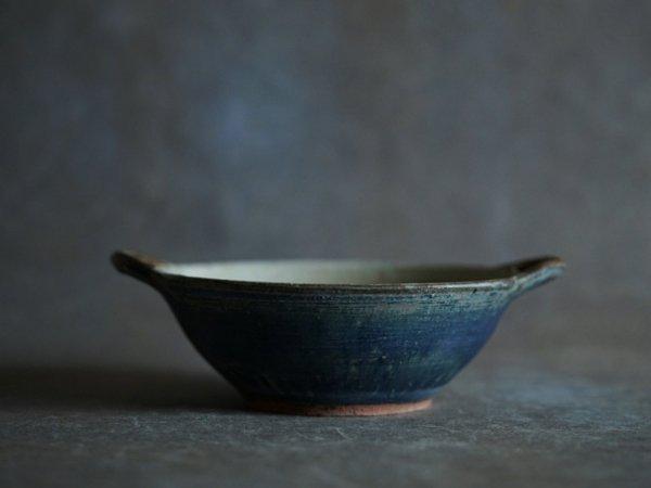 八木橋 昇 渋青土 丸グラタン皿(耐熱皿)