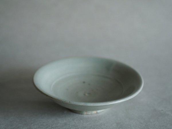 長戸 裕夢 白瓷皿 5寸