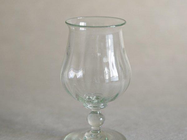 翁再生ガラス工房 ワイングラス モール